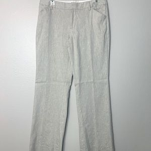 Gap Cream Linen Wide Leg Trousers 6R